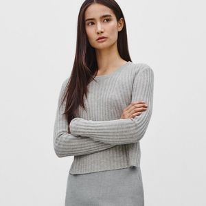 Aritzia Babaton Nathaniel Cropped Fitted Sweater